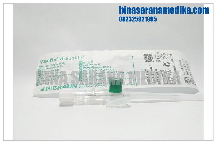 alat-untuk-memasukkan-cairan-ke-infus-set-iv-vasofix-18-g