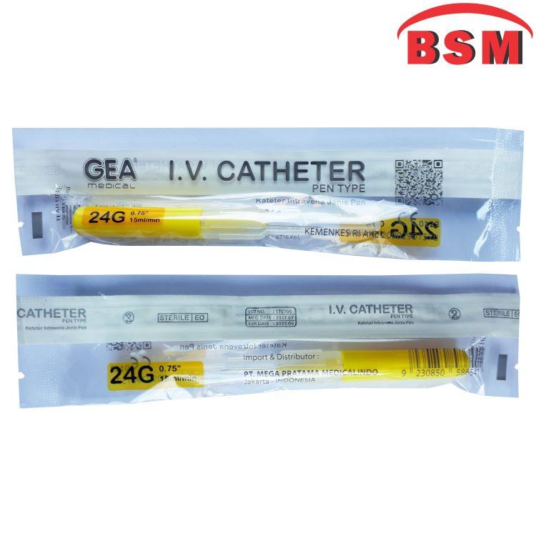 IV Cathether GEA 24G
