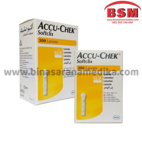 ACCU CHECK SOFTCLIX 200 (Jarum untuk Sample Darah)