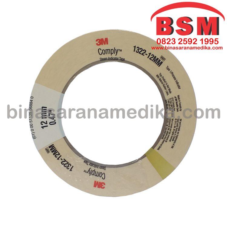 Auto Clave Cream 12mm (Indikator Tape/ Steril)