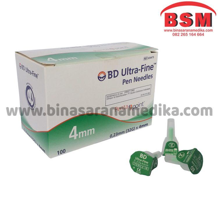 BD Ultrafine 32G (Jarum Insulin)