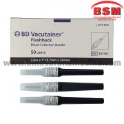 BD Needle Vacutainer Flashback 22G