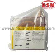 CATGUT PLAIN 4/0 B BRAUN / BENANG OPERASI