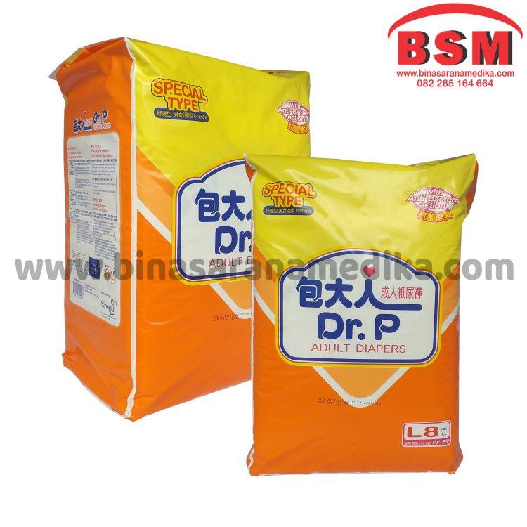 Diapers Dewasa / Adult Dr.P Special Ukuran L