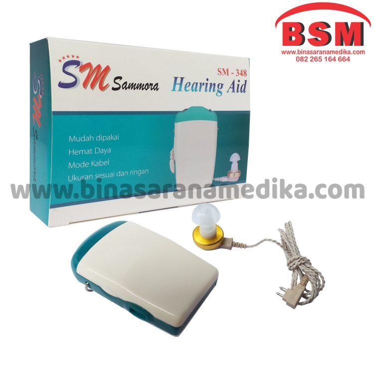 Hearing Aid / Alat Bantu Dengar dengan Kabel 348 Sammora