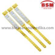 ID Band Dewasa Warna Kuning Remedi (Gelang Pasien Rumah Sakit)