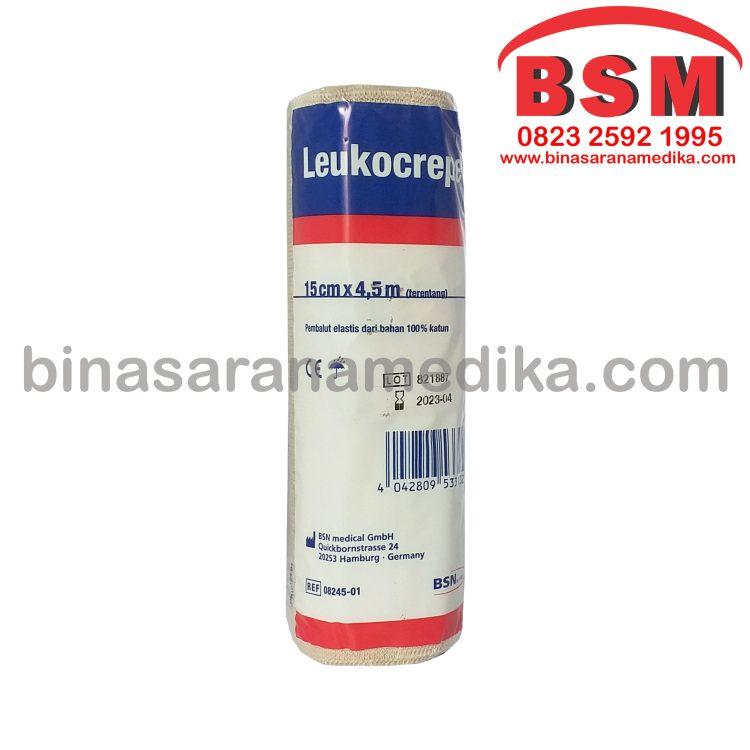 LEUKOCREPE 15 CM (PEMBALUT ELASTIS)