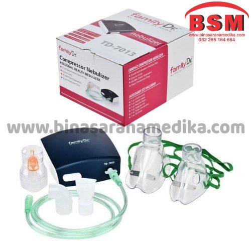 Nebulizer Family Dr TD-7013 / Alat Terapi Gangguan Pernafasan