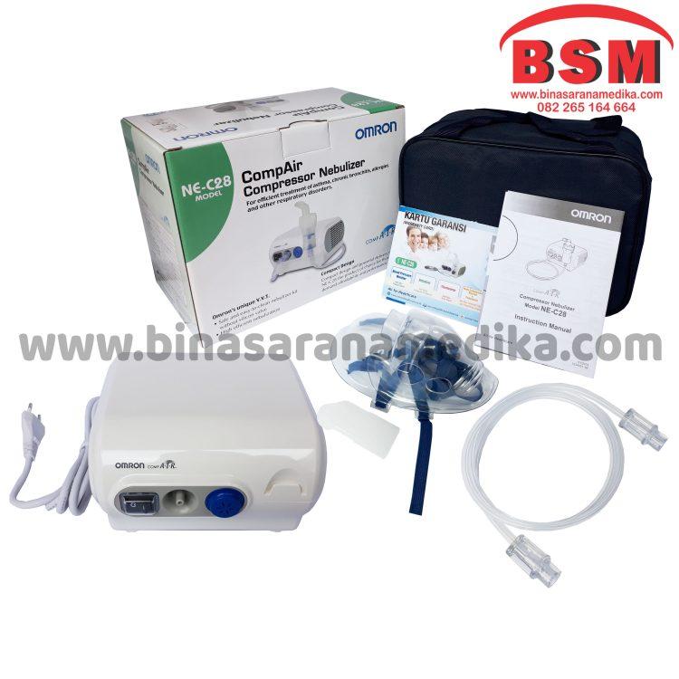 Nebulizer Omron NE-C28 / Alat Terapi Gangguan Pernafasan
