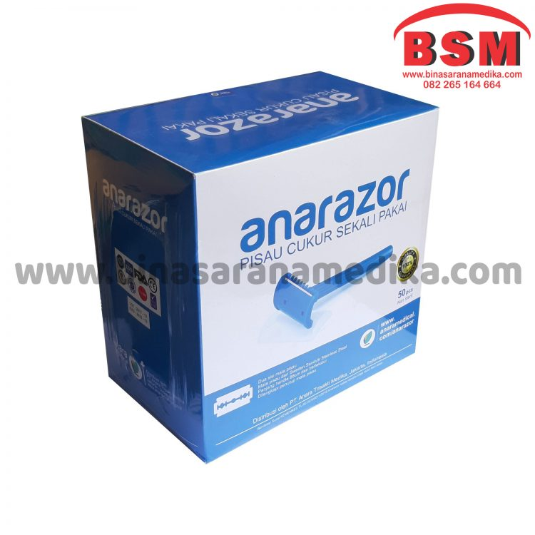 PISAU CUKUR ANARAZOR (50 PCS)