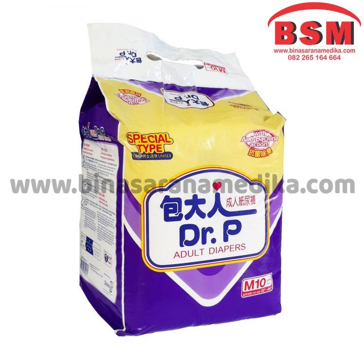 Dr.P Special M (isi 10) / Pampers Dewasa / Popok Dewasa