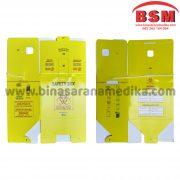 Safety Box Bio Hazard Kapasitas 12,5 Liter Kotak Limbah Medis