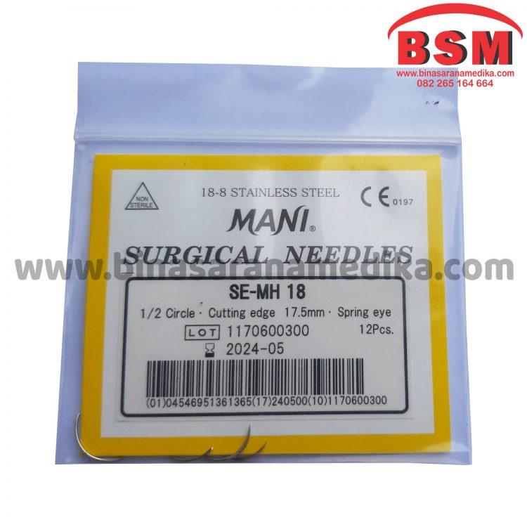 Surgical Needles SE-MH 18 Jarum Hecting Kulit Bedah Operasi
