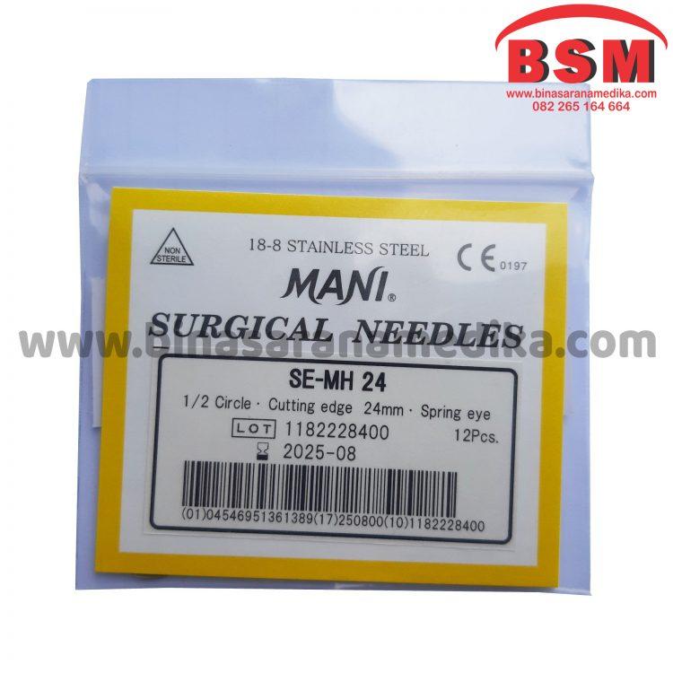 Surgical Needles SE-MH 24 Jarum Hecting Kulit Bedah Operasi