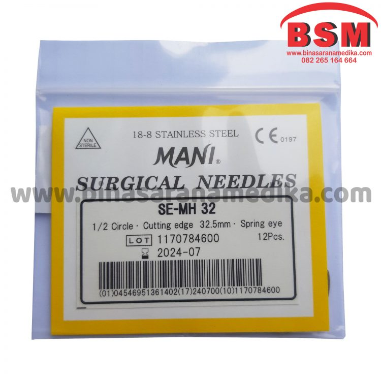 Surgical Needles SE-MH 32 Jarum Hecting Kulit Bedah Operasi