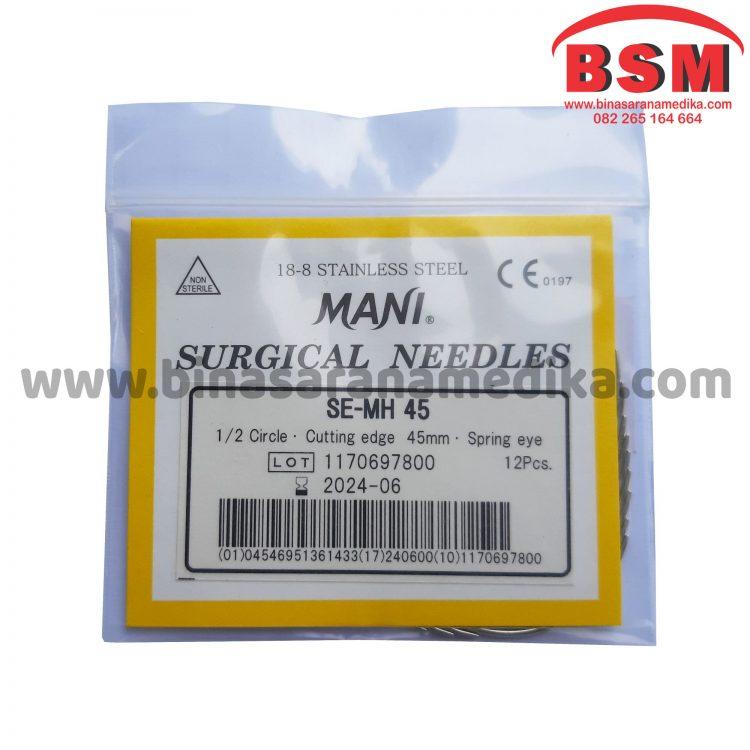 Surgical Needles SE-MH 45 Jarum Hecting Kulit Bedah Operasi