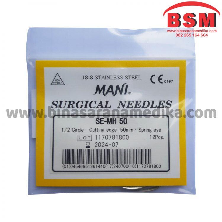 Surgical Needles SE-MH 50 Jarum Hecting Kulit Bedah Operasi