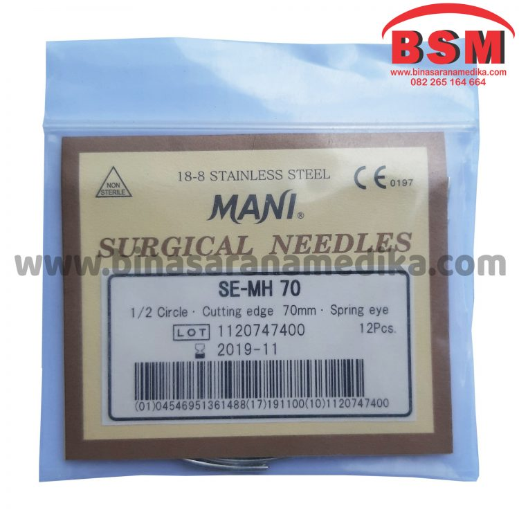 Surgical Needles SE-MH 70 Jarum Hecting Kulit Bedah Operasi