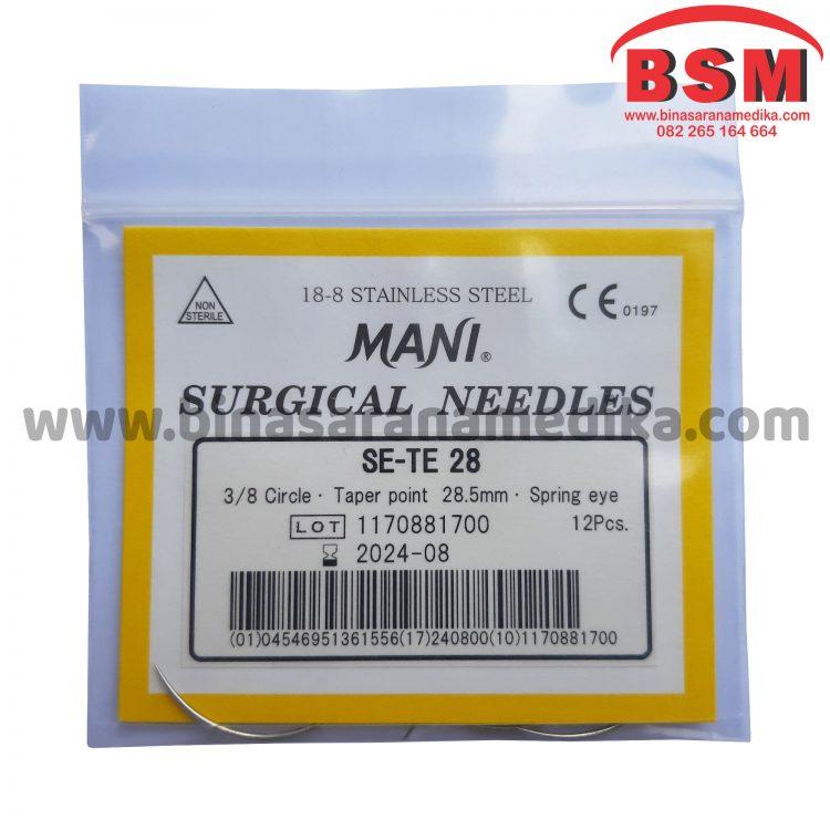 Surgical Needles SE-TE 28 Hecting Otot Jahit Bedah Operasi