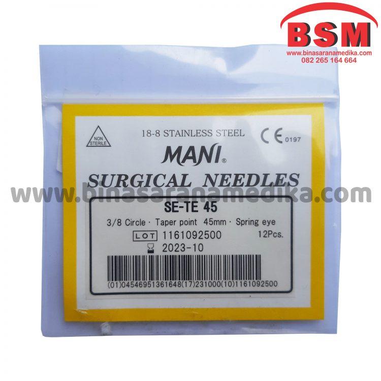 Surgical Needles SE-TE 45 Hecting Otot Jahit Bedah Operasi