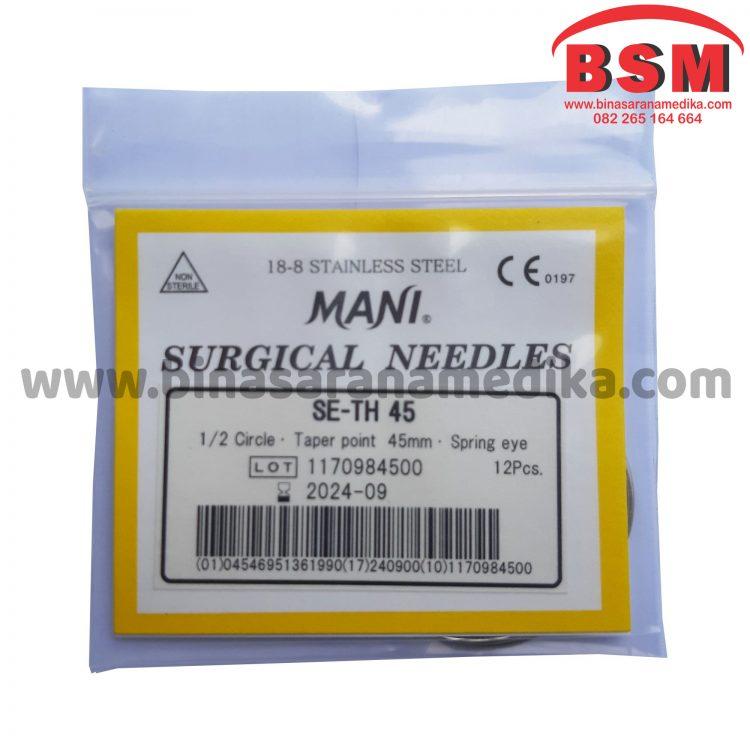 Mani Surgical Needles SE-TH 45 Hecting Otot Jahit Bedah Operasi