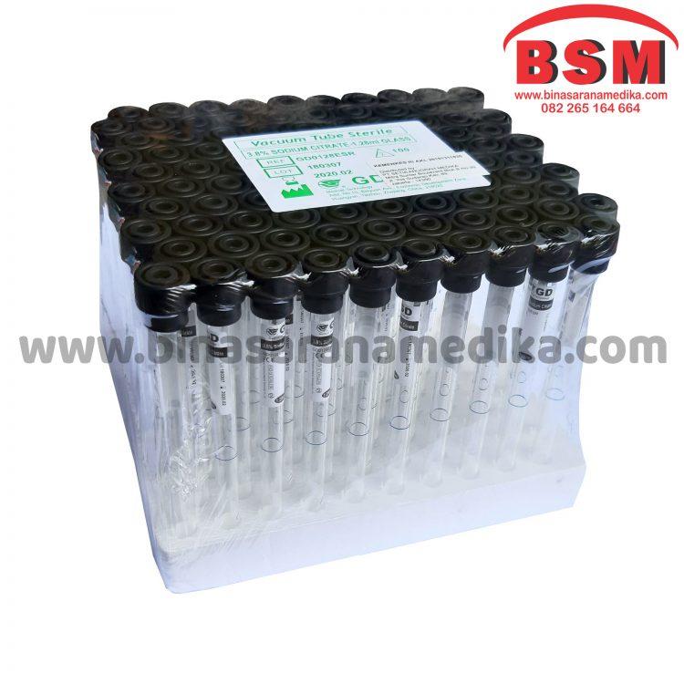 Vacuum Blood Collection vacuum Tube ESR Tube 1.28ml