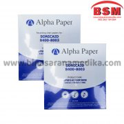 PAPPER 142X150 SONICAID ALPHA PAPER