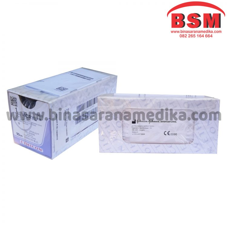 VICRYL USP 1 (4 Ph Eur)-90CM ETHICON